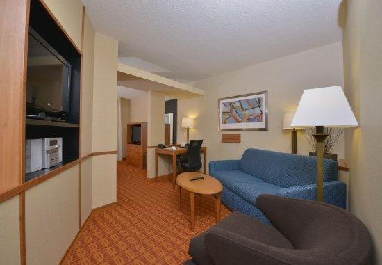 Williamsport, PA: King Studio Suite – Living Area