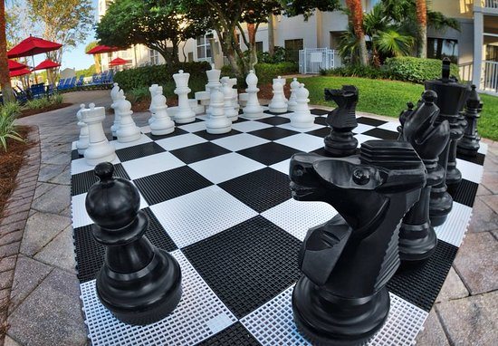 Marriott's Legends Edge at Bay Point: Giant Chess Board