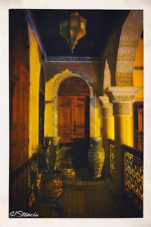 Riad Layalina Fez: Vue de nuit accès suite 1er étage