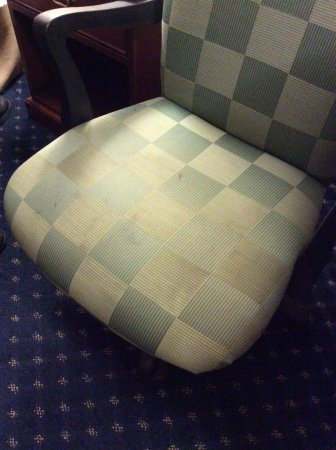 Travelodge Tacoma Near McChord AFB: Chair need cleaning