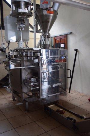 Naranjo, Kostaryka: Packaging machine