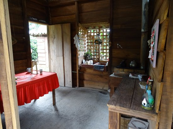 Naranjo, Κόστα Ρίκα: Inside of mocked up old Costa Rican home
