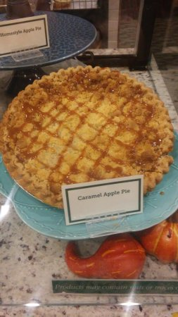 Apalachin, NY: Carmel apple pie!
