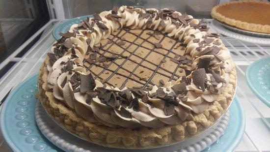 Apalachin, Νέα Υόρκη: Fudge brownie silk pie
