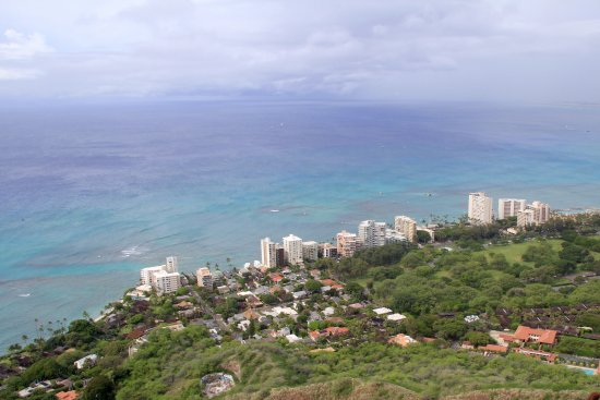 Diamond Head: Views to Waikiki