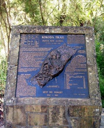 Ferntree Gully, Australia: Kokoda Trail Memorial Walk - Take in the history along the steps
