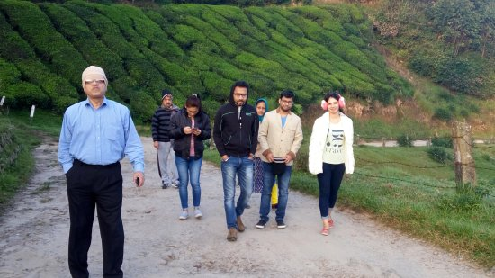 Westwood Riverside Garden Resorts: Daily Morning walk with our lovely group