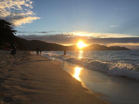 Batu Ferringhi Beach - watching sunset