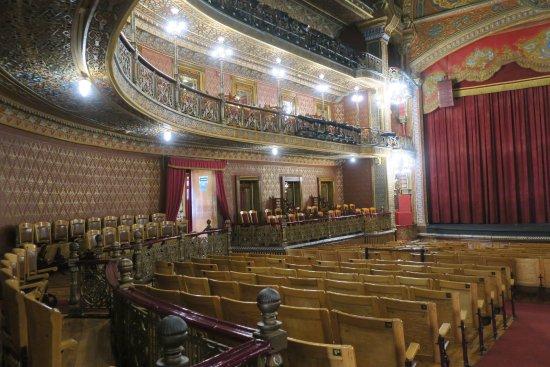 Juarez Theater (Teatro Juarez) : 豪華な内部