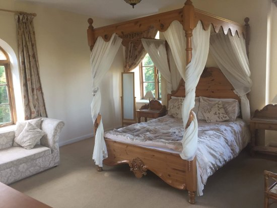 Cheriton Bishop, UK : Four Poster Rom