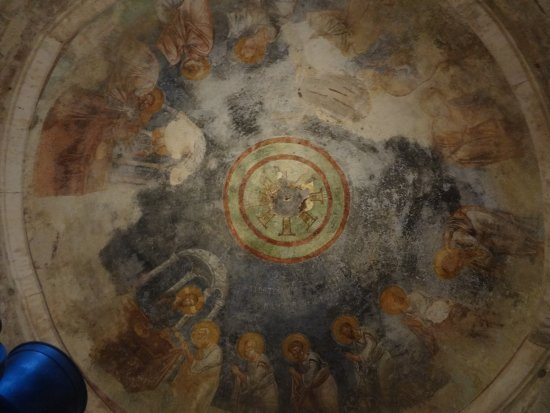 Church of St. Nicholas: фрагмент росписи купола