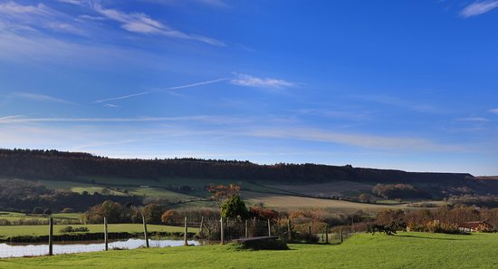 The Grainary: View across the dale, stunning countryside