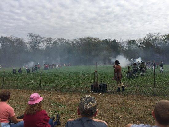 La Fontaine, อินเดียน่า: Mississinewa 1812 battle re-enactment