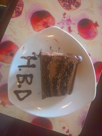 Mowana Day Spa My Husbands Birthday Cake Very Special