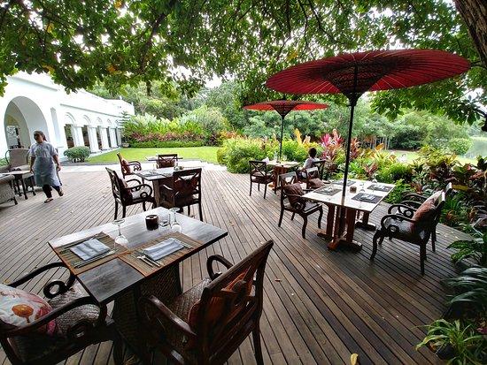 Feines p ppchen zu beginn le planteur for 44 the terrace