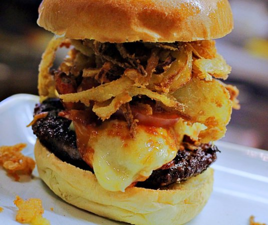Hillsborough, UK: Bad Bobs Smokey Joe Burger