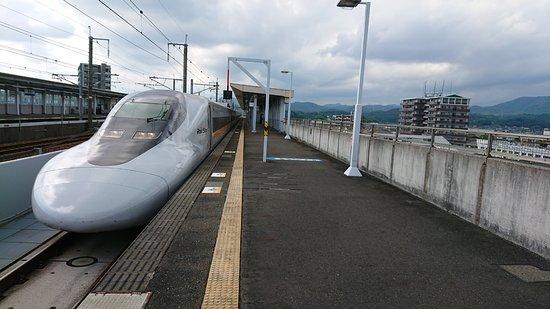 Chugoku, Japan: 通過待ちの一コマ
