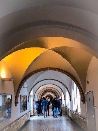 Olsberg, Germany: De rondleiding door de Jozefsheim, het leek wel een klooster.