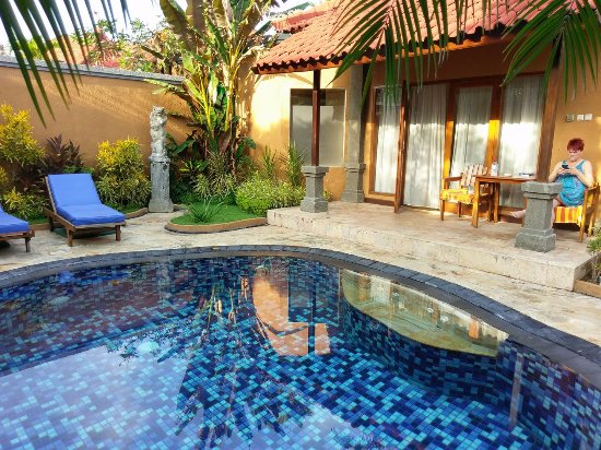 Parigata Villas Resort: Private pool - lovely surroundings