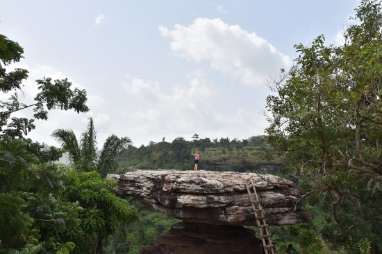Eastern Region, Ghana: The Umbrella Rock
