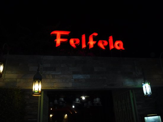 Felfela: The sign
