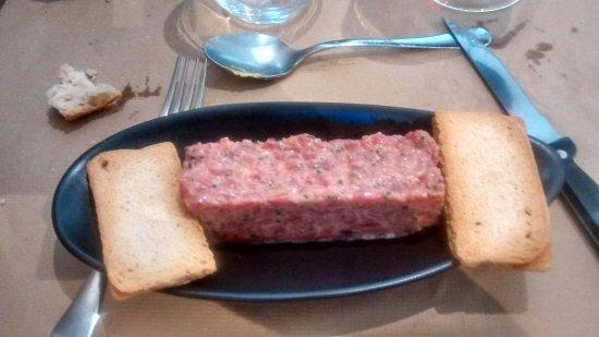 Steak tartar de ternera asturiana picture of olea for Olea comedor cuenca