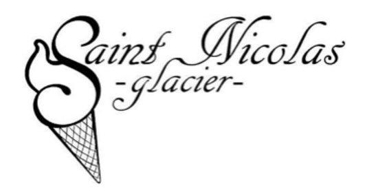 Romans-sur-Isère, France : Glacier Saint Nicolas