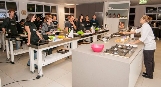 Bryanston, Republika Południowej Afryki: Great Cooking tips and learning by professional team