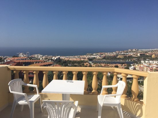 CLC Paradise: View from the huge balcony