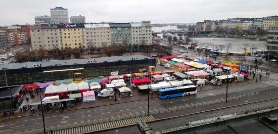 Scandic Hakaniemi: View from Superior room #904