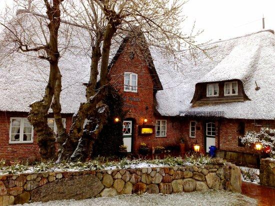 Norddorf, Allemagne : Winterimpression