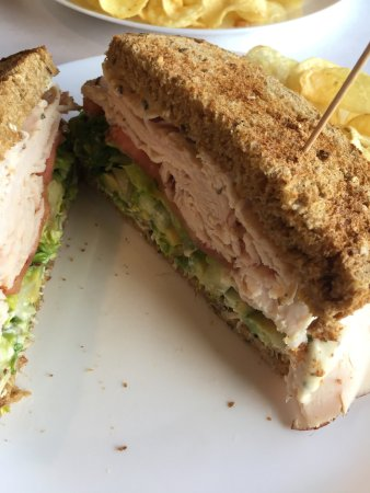 Branford, CT: Cali Turkey Sandwich