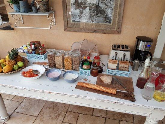 Salt Rock, Sudáfrica: Frühstück
