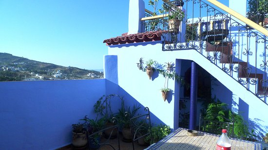 Hostal Guernika : la terrazza