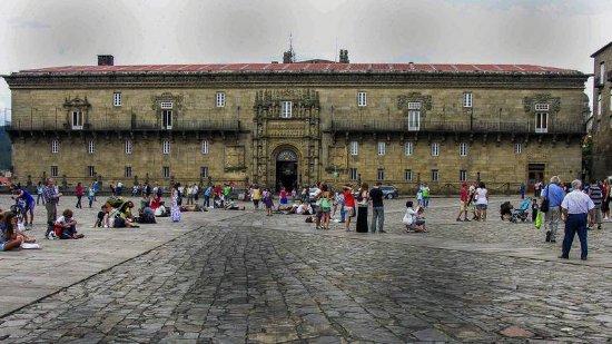 Plaza del Obradoiro: площадь