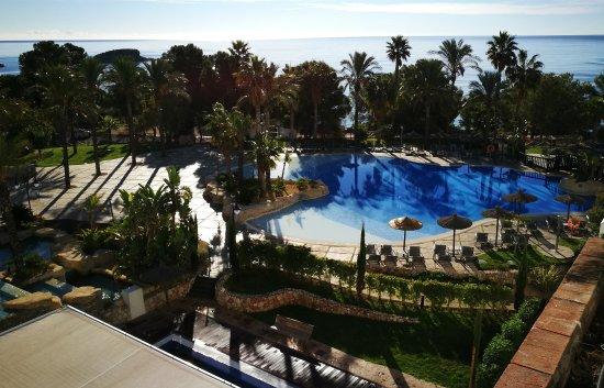 Hotel SH Villa Gadea: desde la habitación poco después de amanecer