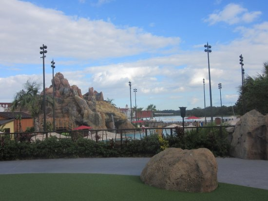 Disney's Polynesian Village Resort: Volcano Pool