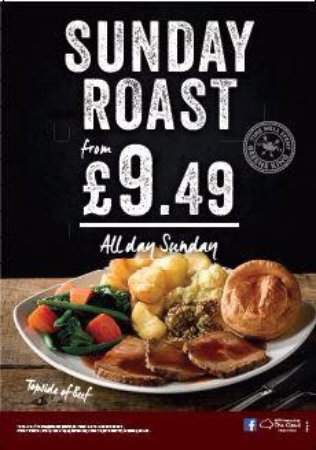 Slough, UK: Sunday Roast