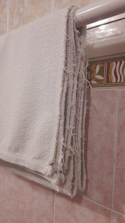 """Leninogorsk, Russia: Вот такое полотенце мне предложили в отеле """"Нефтяник"""" города Лениногорска"""