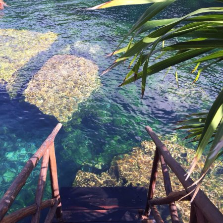 Юкатан, Мексика: L'accès la baignade