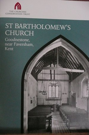 Goodnestone, UK: Church booklet