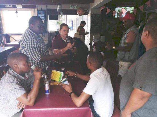 Port Shepstone, Южная Африка: Schooners Galley Seafood Restaurant