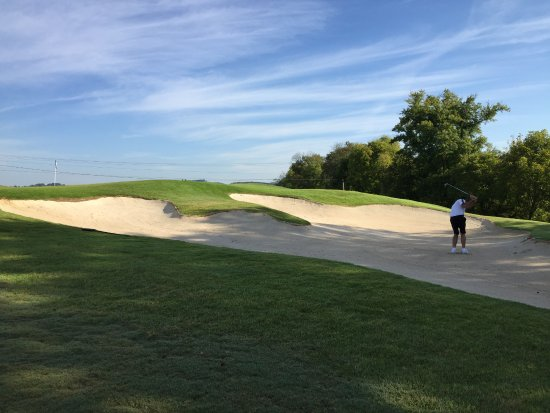 Sevierville Golf Club: stay out of this bunker on hole 7 River Course
