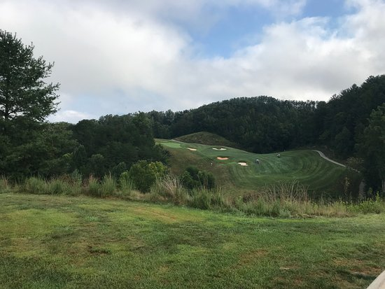 Whittier, NC: grip and rip here, fun two tier green as well
