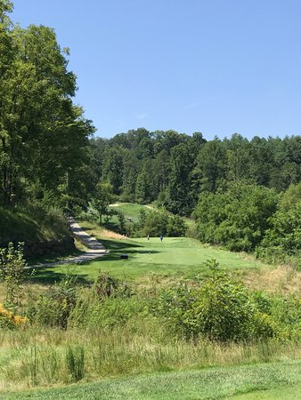 Whittier, NC: tight par 3 here