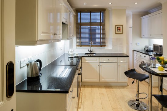 No 1. The Mansions by Mansley: Kitchen in a three bedroom two bathroom apartment