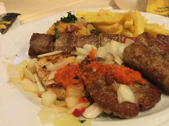 Kroatische Küche | Gute Kuche In Sehr Guter Preis Leistung Sehr Romantische Aussenlaube