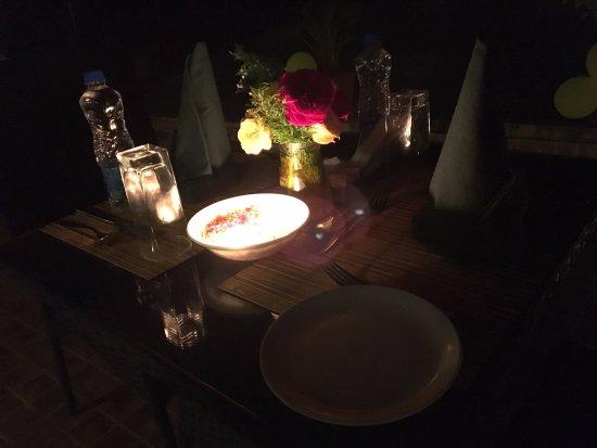 Club Mahindra Thekkady: Candle light Dinner