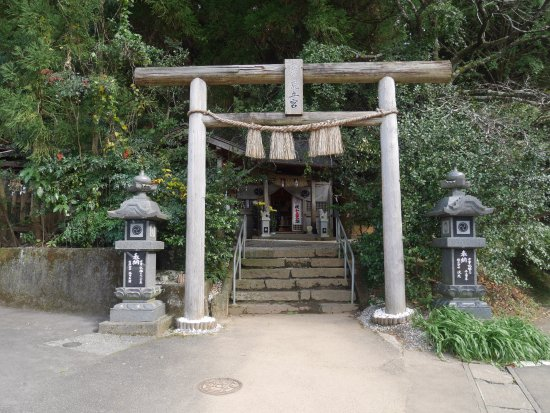 荒立神社境内風景 - 高千穂町、...