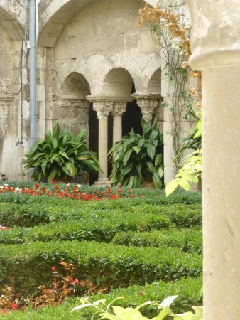 Saint-Remy-de-Provence, Fransa: toujours dans la cour du cloître